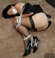 Samantha Grace- Roped 3 by MonkofMayhem