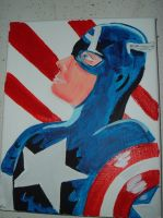 Captain America by PlummyPress