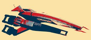 SR1 Normandy by NightRaven1
