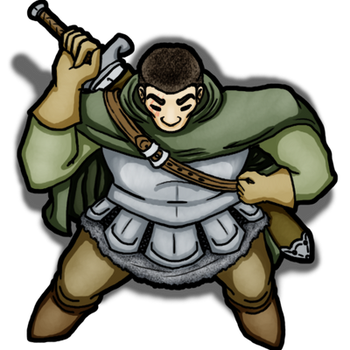 Player Token - Toron the Fighter by Shenorai