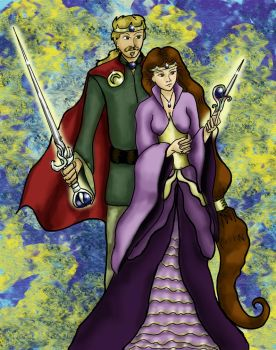 The King and Queen by girl-n-herhorse