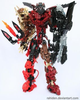 Bionicle MOC: The Dark Brother by Rahiden
