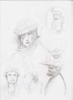 Pirate sketch by Fratos