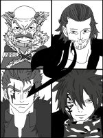 The Men Of Fairy Tail by wilburthelame