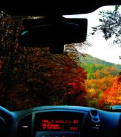 Autumn In The Mountains And a Radio by Blubie423