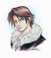 Lion's Heart - Squall Leonhart by SBGothik