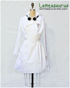 Dr. Horrible Retro Style Dress by Lameasaurus-etsy