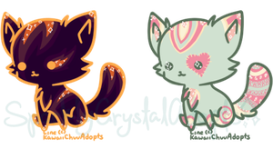 {Closed!} Kawaii Kittens No.4 by SparklyCrystalAdopts