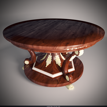 Wooden Table by Jempelempots