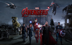 Avengers Age Of Ultron Artwork by iCroZ