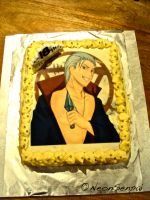 Hidan Birthday Cake by NeonSenpai