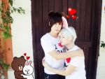 Cony and Brown Line Camera Photo (video) by Smexy-Boy
