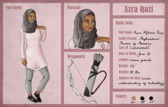 Azra :: Reference Sheet by themooseshark