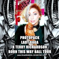 PhotoPack Lady Gaga XTerry Richardson by NewGaGaBriel