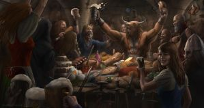 FEAST WITH THE BEAST! by J-Humphries