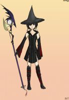 Xion Black Mage Dressphere by darkangel297