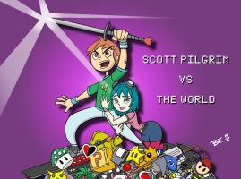 Scott Pilgrim vs The World by BobboWonder