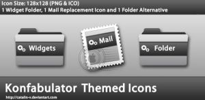 Konfabulator Themed Icons by CreativePixel