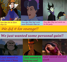 Why I Decided to be a Disney Villain by freewolf17