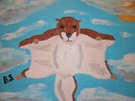 A Flying Squirrel by sampson1721