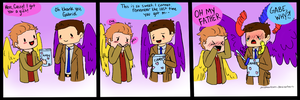 SPN: Joke's On You by jazphantom
