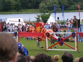 Jousting - Knight 56 by Axy-stock