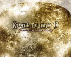 Grunge Brush Set -15- by KonceptKronik