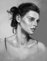 daily sketch 3676 by nosoart