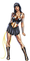wonder woman and xena mashup by thisgirlluvsthatgirl