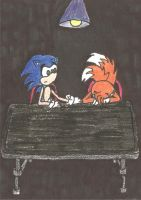 Sonic and Tails by TeamOf1
