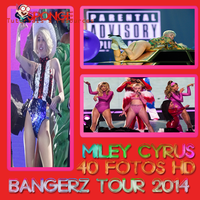 Photopack Miley Cyrus Bangerz Tour 2014 by TamuEditionsLovatic