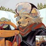 Winter Icons - Louve by thornwolf