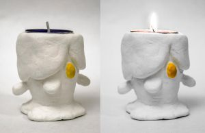Litwick tealight cup by Solinni