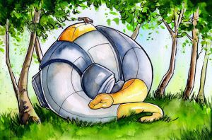 Dinobot Sludge: Nap Time by The-Starhorse