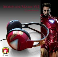 Ironman Headphones by RidaChan