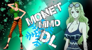MMD One Piece Monet DL by Friends4Never