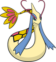 Shiny Milotic Global Link Art by TrainerParshen