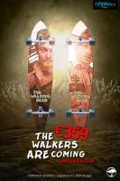 Poster Design (The Walking Dead - Longboards) by ShatteredGraphicss