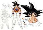 Drafting and Refinement - Goku by moxie2D