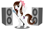 Art trade: Sing your heart out by Gamerpen