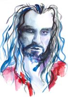 Thorin Oakenshield by AnnAshley