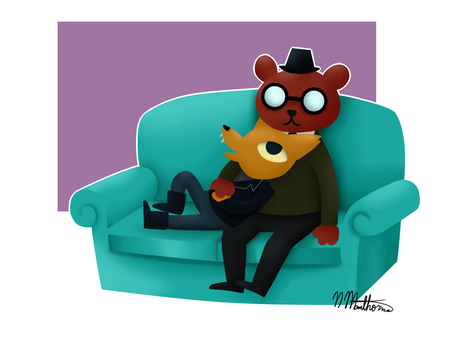 NITW Gregg and Angus by nikki45e