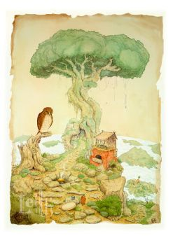 Grand Mother Tree by Leithwalton