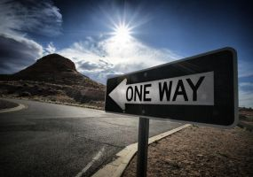 One Way by dougcawkerdotcom