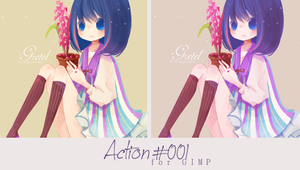 Action 001 by Honney-chan