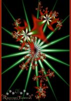 Christmas Flowers by Tizette-Creations