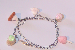 Little sweets bracelet by PookieTookieJewelry
