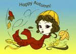First Day of Autumn! by LaMoonstar