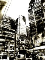 Post Apocalyptic: HongKong by believeinsketching