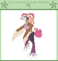 Pokemon swap meme - Dee by TinyBuni